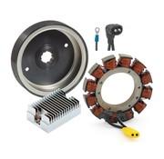 Accel ROTOR KIT / ESTATOR / regulador de carga; 91-99 Bigtwin