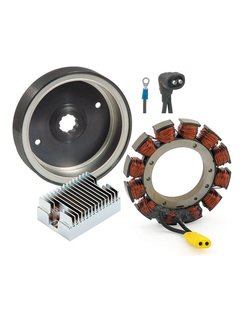 Rotor / Stator / Regler Charge Kit; 91-99 Bigtwin