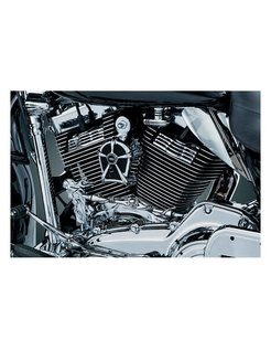 MACH 2 HORN COVER - black or chrome