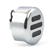 MCS Horn cover 3-SLOT ROUND Chrome or black