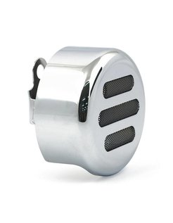 Horn cover 3-SLOT ROUND Chrome or black