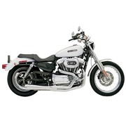 Bassani exhaust  Road Race 2-1 86-03XL - Chrome/Black