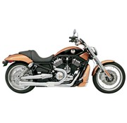 Bassani exhaust  RR2-1 07-11 VROD Chrome/Black
