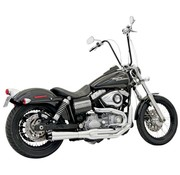 Bassani exhaust  2-1 MEGA Road Rage II FXD Chrome/Black