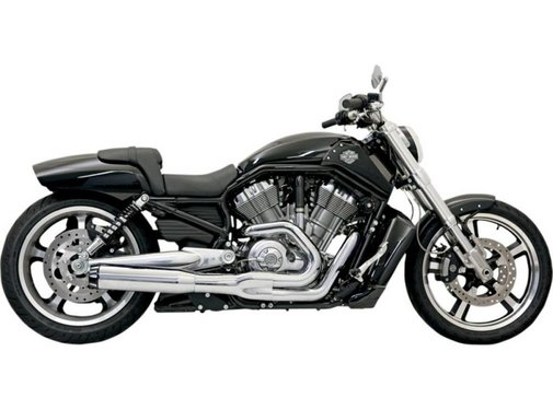 Bassani exhaust  B1 VROD 07-15 Chrome/Black