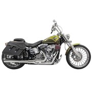Bassani exhaust  Road Rage 2-into-1 system Breakout Chrome/Black