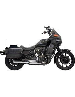 Exhaust RoadRace 2-1 EVO FXRT Chrome/Black