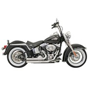 Bassani exhaust  Firepower Series FLH/FX/ Softail 86-15 Chrome
