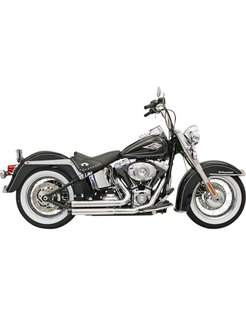 Auspuff Firepower Serie FLH / FX / Softail 86-15 Chrome