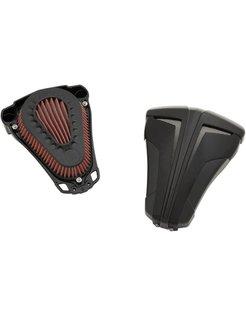 Air Cleaner Kit Cipher Black/Black 08-up FLT; 14-up Twincam (ESPFI)