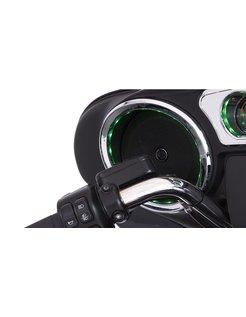 Speaker Trim Grill angezündet Chrome 14-up FLHT