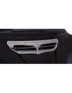 trim fairing Chrome/Black 14-up FLH/T