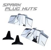 Harley Engine Spark Plug Huts Chrome 99-up Harley Touring FLH FLT/Harley Softail/Dyna
