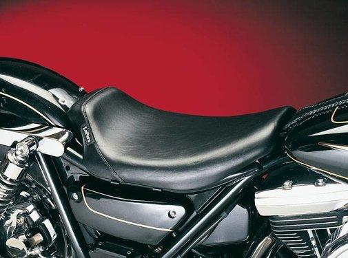 Le Pera seat solo  Bare Bone Smooth Biker Gel 84-94 FXR