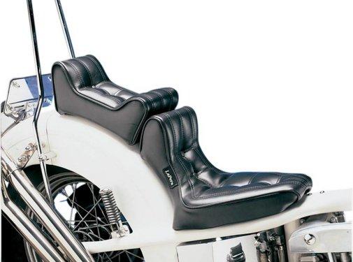 Le Pera seat solo  2-up Pleated Style Signature II Custom Rigid