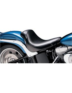 Seat Silhouette Deluxe Solo Smooth 06-16 Softail 200mm Rear Tire