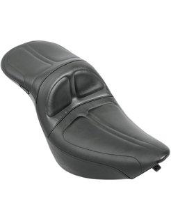 Sitz Maverick Daddy Long Legs 2-up Ganzkörperansicht 06-16 Softail 200mm Hinterreifen