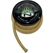 Namz carburant / conduite d'huile, laiton flexible