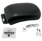 Le Pera seat solo Pillion Pad Silhouette Biker Gel Smooth 00-07 Softail - 150mm Tire