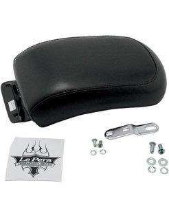 seat solo Pillion Pad Silhouette Biker Gel Smooth 00-07 Softail - 150mm Tire
