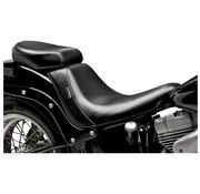 Le Pera seat solo Pillion Pad Bare Bone Smooth 06-16 Softail - 200mm rear tire