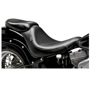 Le Pera seat solo Pillion Pad Silhouette Smooth 06-16 Softail - 200mm rear tire