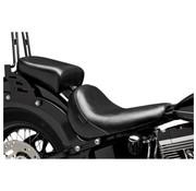 Le Pera seat solo Pillion Pad Bare Bone Smooth Softail 11-13 FXS Blackline 12-16 FLS Slim '13 FXSB