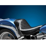 Le Pera seat solo  Stubs Cafe Pleated 00-07 Softail