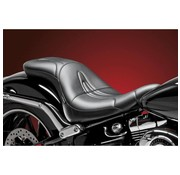 Le Pera seat   Sorrento Full Length 2-up Smooth 13-16 FXSB Softail