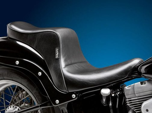 Le Pera seat   Cherokee Full Length 2-up Smooth 13-16 FXSB Softail