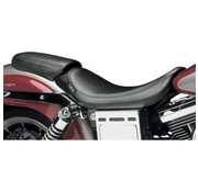 Le Pera seat solo Pillion Pad Bare Bone Smooth Biker Gel 06-16 FLD/FXD Dyna