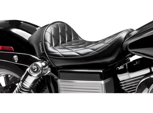 Le Pera Seat Cafe Solo Diamond 06-16 FXD Dyna models