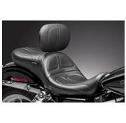 Le Pera seat   Maverick 2-up Smooth Backrest 06-16 FLD/FXD Dyna