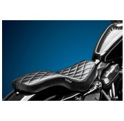 Le Pera seat   Cobra 2-up Diamond 04-06 and 10-16 Sportster XL