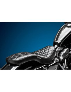 Seat Cobra 2-up Diamond 04-06 and 10-up XL Sportster