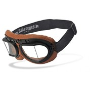 Helly Goggle / Sunglasses Bikereyes: RB 2 – brown/clear