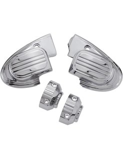 master cilinder cover (with mirror) - chrome 14-16 FL touring