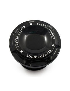 Groove gas cap - Black 96-16 H-D Sportster