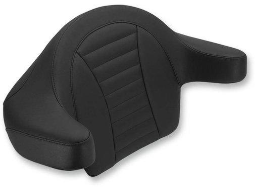 Mustang seat   Touring FLH/FLT wrap-around passenger backrest. Fits:> King Tour-Paks® 2014-2015.ROADKING 08-17 - FLHT&FLTR 08-17 - FLHX STREET GLIDE 08-17 TRI-GLIDE and STREET GLIDE TRIKE 09-17