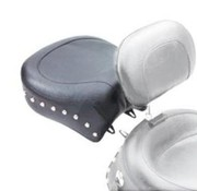 Mustang seat solo WIDE STUDDED RECESSED REAR Dyna & WIDE GLIDE 2006-2017