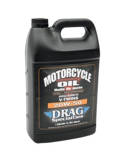 Motorcycle oil 20W50 for V-Twin engines - 4ltr