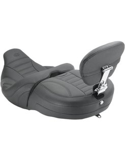seat  one piece vintage Touring FLH/FLT with passenger backrestFreewheeling Trike