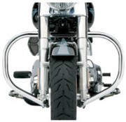 Cobra crash bar - engine guard Freeway Bar FAT 09-16 FLH
