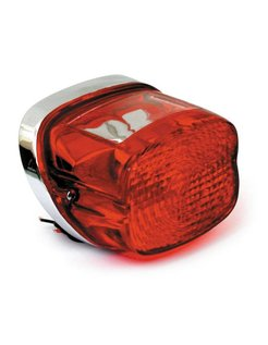 Taillight late style - Fits: > 73-98 H-D