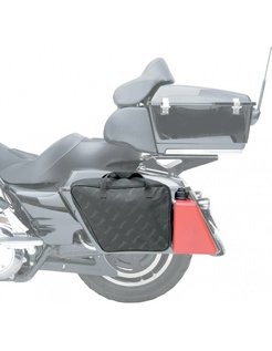 Saddlebag liner polyester for use with jerry can Harley Davidson Touring