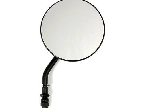 MCS handlebars Mirror Round left or right Fits:> HD 1965-Up - Black