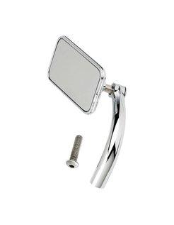handlebars Mirror Utility rectangular - Chrome or Black