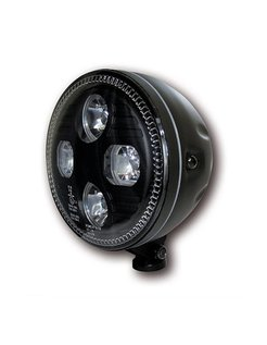 Headligt led EC approved - Black or Chrome