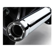 Cobra exhaust RPT slip-ons Mufflers 3 inch  Chrome or Black - for 08‑16 FXDF 10‑16 FXDWG