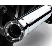 Cobra RPT Mufflers Chrome ou Noir - 95-16 FLHT / FLHR / FLHX / FLTR et H-D FL Trike (sauf 15-16 FLRT)